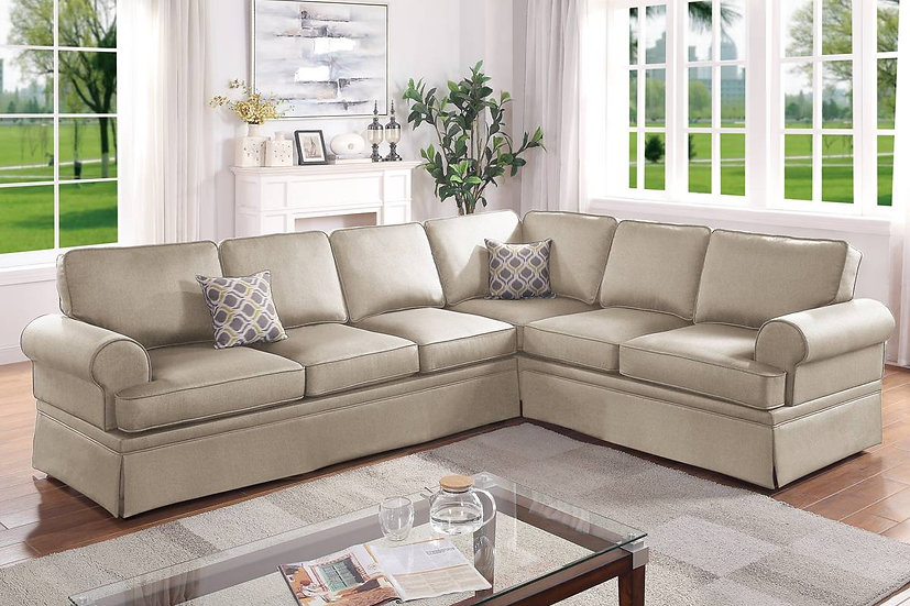 2-Pcs Sectional Sofa | F6420