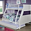 Thumbnail: HOOPLE TWIN/FULL BUNK BED | CM-BK963GY
