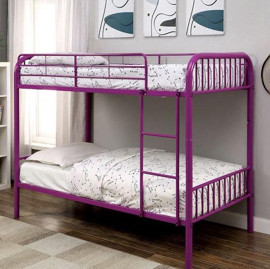 RAINBOW TWIN/TWIN BUNK BED  |  CM-BK1035PR