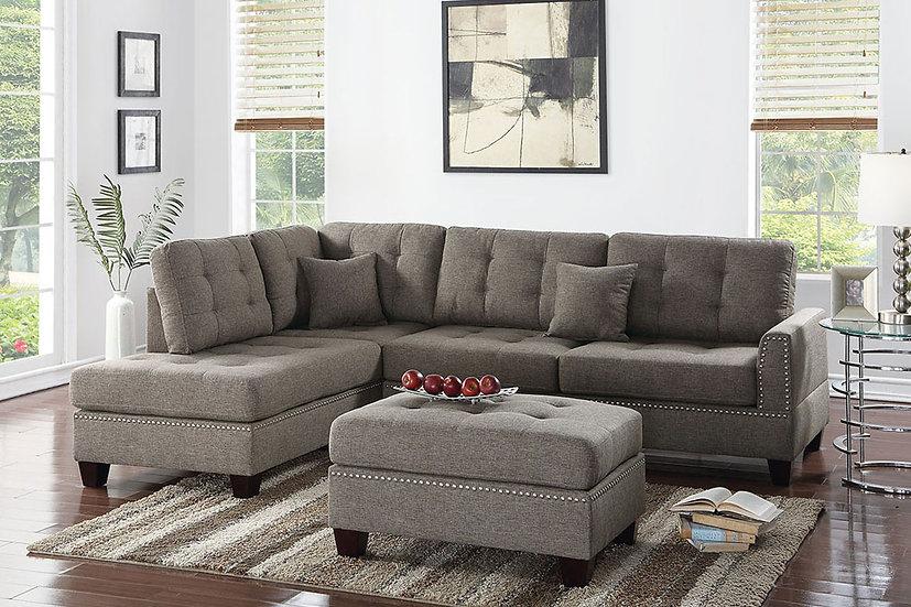 3-Pcs Sectional Sofa | F6504