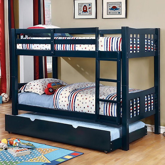 CAMERON TWIN/TWIN BUNK BED     |     CM-BK929BL
