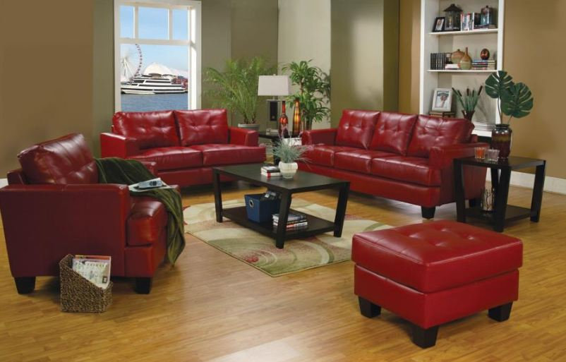 living room set 2 pieces ( 501831-S2 )