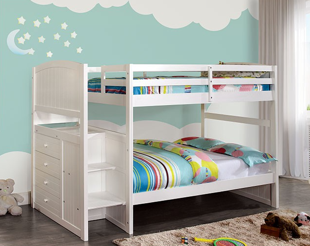 APPENZELL TWIN/Full BUNK BED | CM-BK922