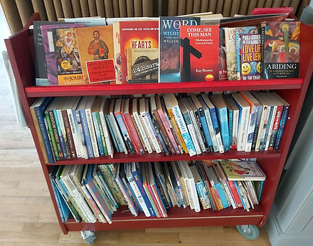 Books available to borrow from the HWMC Church Library