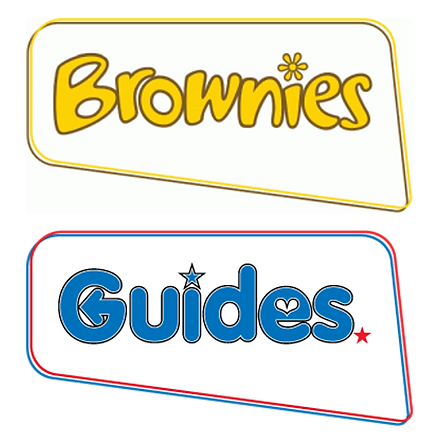 Logos of the Brownies and Guides