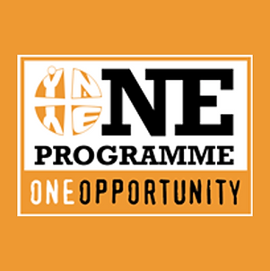 Logo of the York Methodist Circuit's One Opportunity Internship, which young adults at HWMC can join and be a part of.