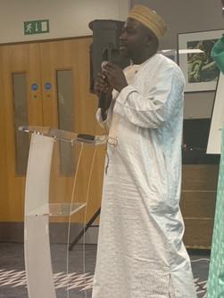 Gambia Embassy UK, Counsellor Sulayman Suntou Touray