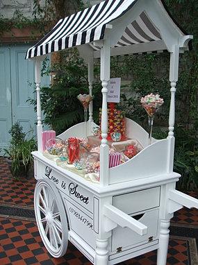 Candy Cart Hire Sweet Cart Rental Wedding Sweetie Cart