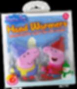Peppa Pig hand warmer, kids hand warmers, re-useablehand warmers