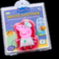 Peppa Pig Gel Pack, Peppa Pig Bruise Soother, cold pack, kids first aid