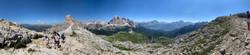 Pano Mountain Rocks