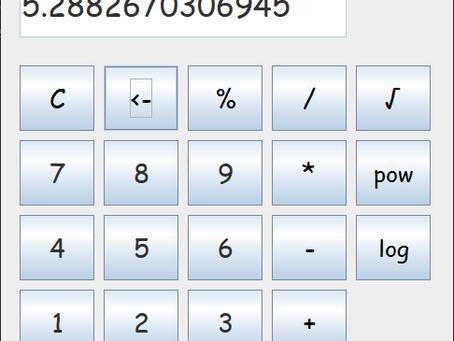 Calculator in Java Swing - Project