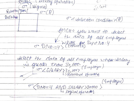 Relational Algebra & Calculus || Database Management System DBMS Notes || Fresher Side