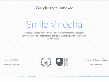 Google Digital Marketing Certification Course || Enroll Now || Fresher Side