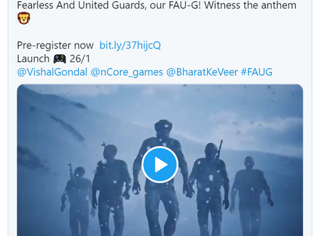 FAU-G Game Releasing on January 26, Akshay Kumar Announces on Twitter || Fresher Side
