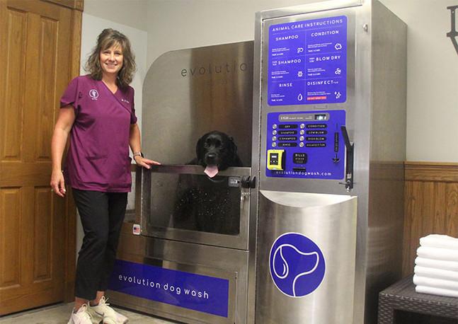 Dog Wash Dr. Heather