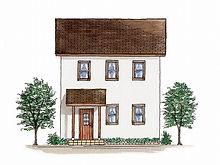 Mamanの家の外観イメージ図です。