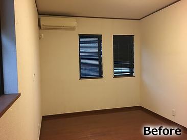 リノベーション前の2階洋室の写真です。