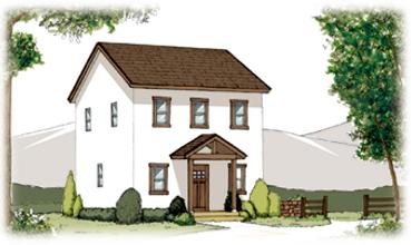 建物外観のイメージ図