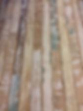 エイジング加工を施したフロア材