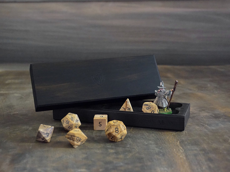 Gabon Ebony Dice Box (Nomad's)