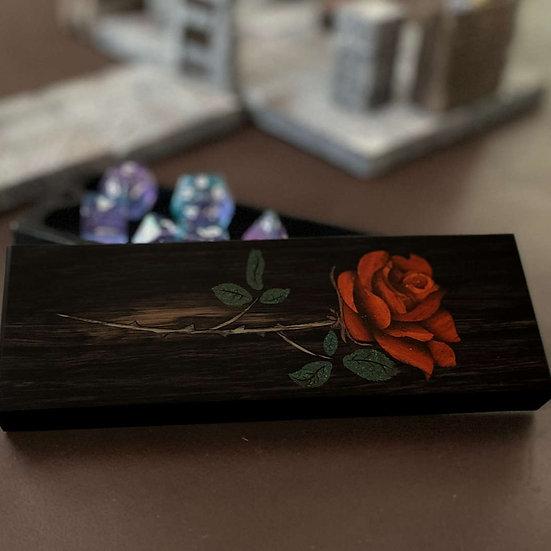 Mystic Rose Inlay - Ebony