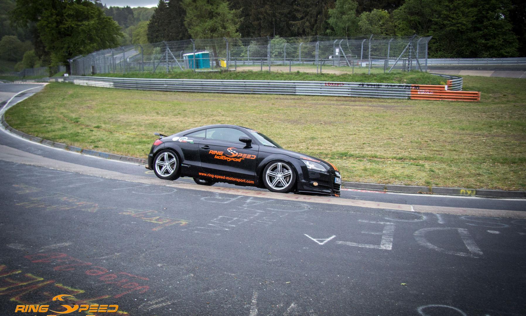 Rental audi Nurburgring