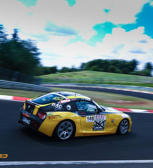 Rent BMW Race car Nurburgring