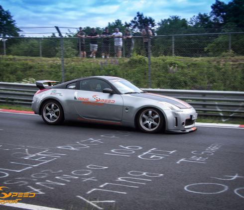 rental Nissan 350Z nurburgring