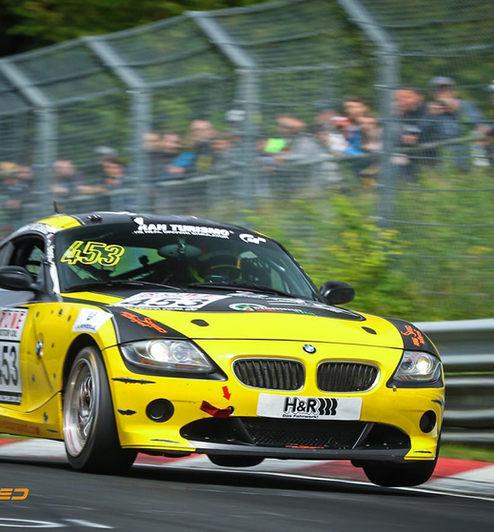 BMW Z4 Race car rent