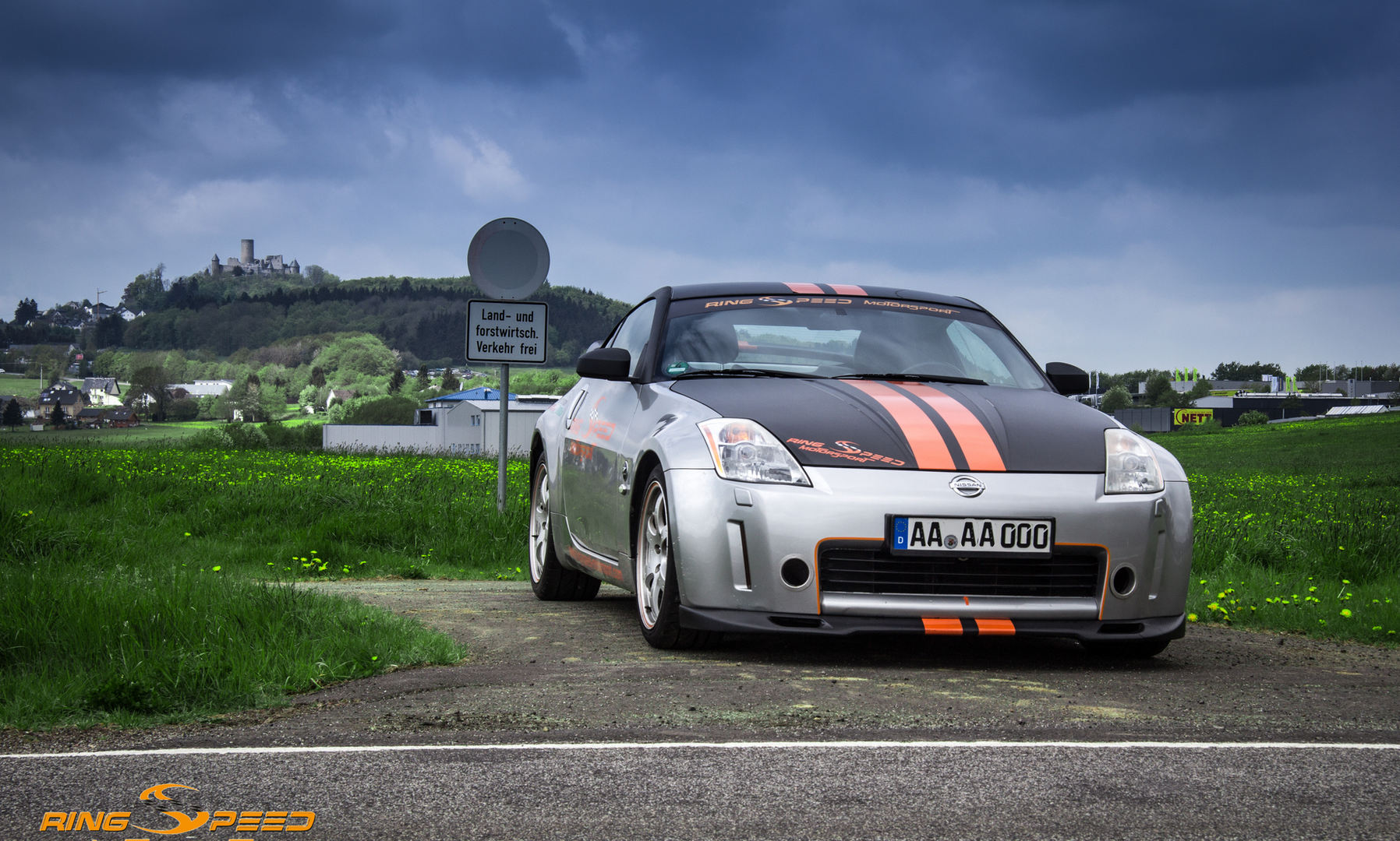 Nissan 350Z trackday nurburgring