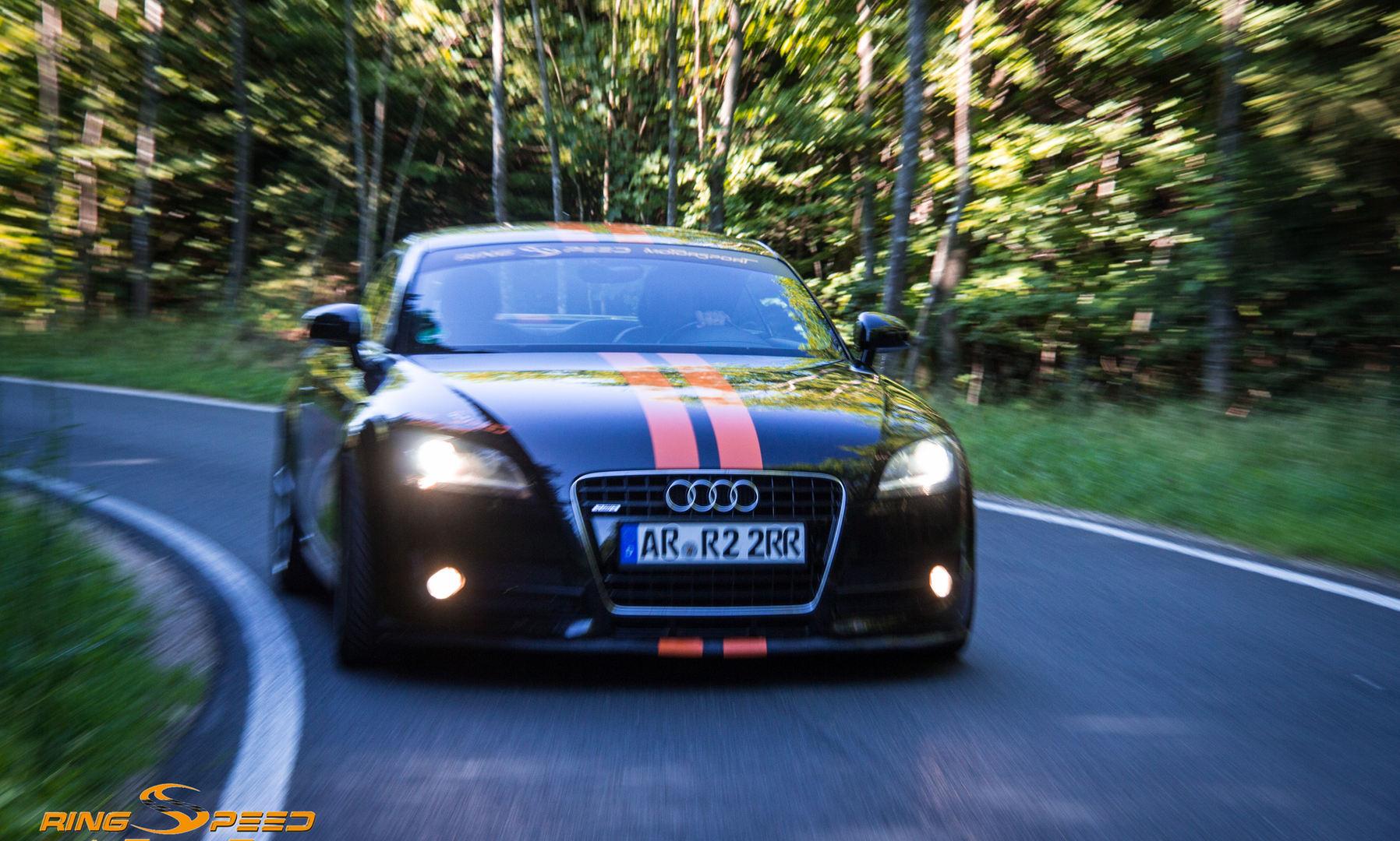 Rental Audi TT Nordschleife