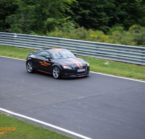 Race car Audi Nurburgring