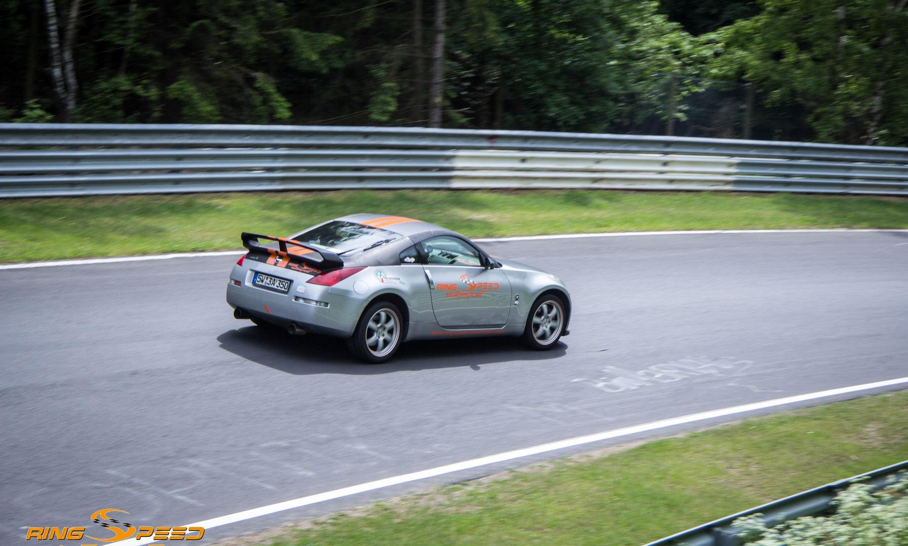 Rent Nissan 350Z Nordschleife