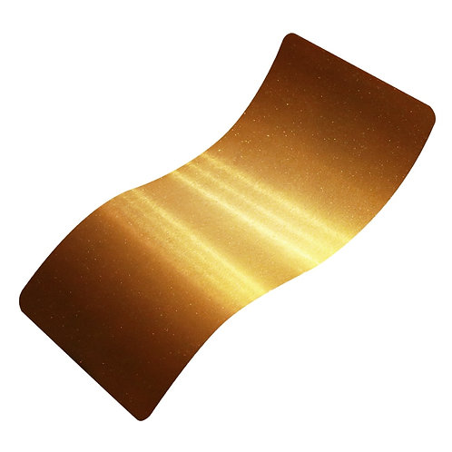 Trans Glitter Gold Polyester Top Coat Powder Coat