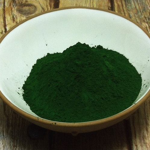 Vert Monte-Carlo Dry Ground Pigment Powder