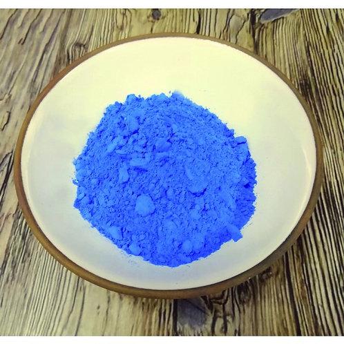 Bleu Charrette Dry Ground Pigment Powder