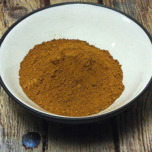 Sienne Naturelle Dry Ground Pigment Powder