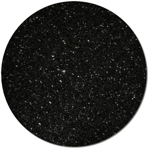 Ultra Fine Black Glitter 0.02mm
