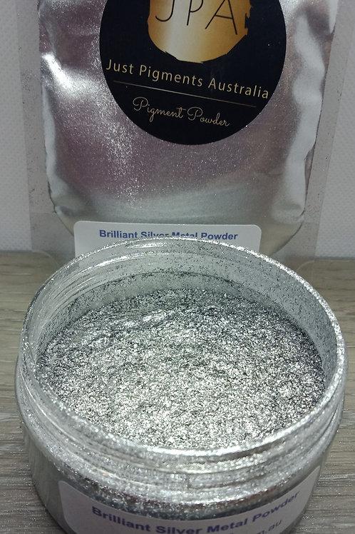 Brilliant Silver Metal Powder