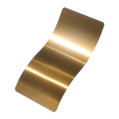 Brassy Gold Polyester Top Coat Powder Coat