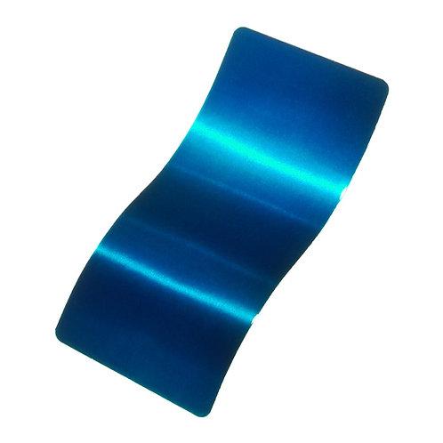Anodized Blue Polyurethane Top Coat Powder Coat