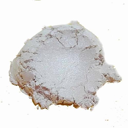Fine White Silver Satin Mica Pearl Powders