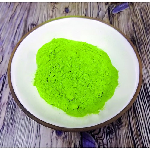 Vert Pomme (Green Apple) Dry Ground Pigment Powder