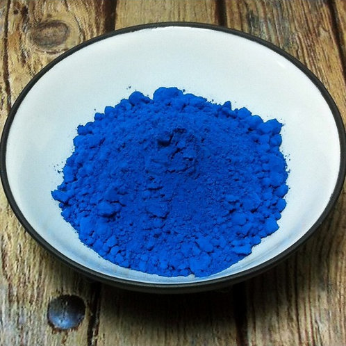 Bleu Omega Dry Ground Pigment Powder