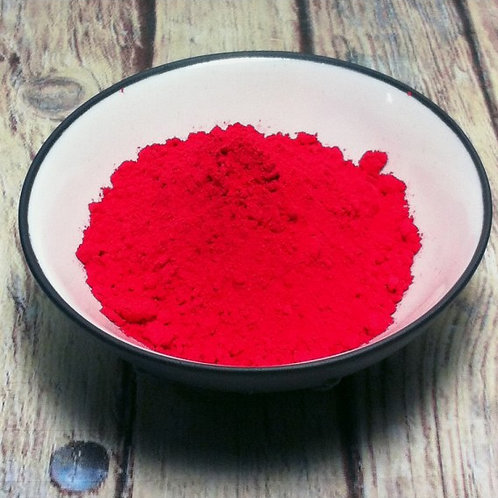 Rouge Cinabre Dry Ground Pigment Powder
