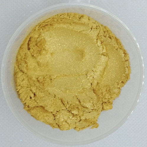 Light Shimmer Gold Mica Pearl Powder