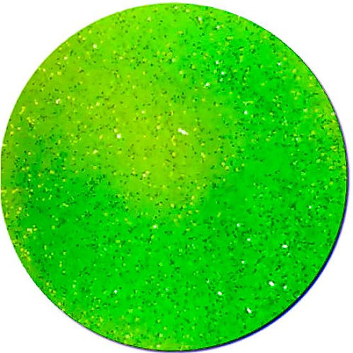 Ultra Fine Neon Lime Green Aqua Glitter 0.2mm
