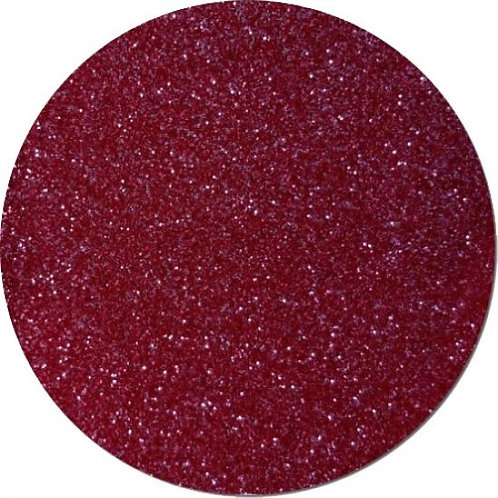 Ultra Fine Metallic Burgandy Glitter 0.2mm