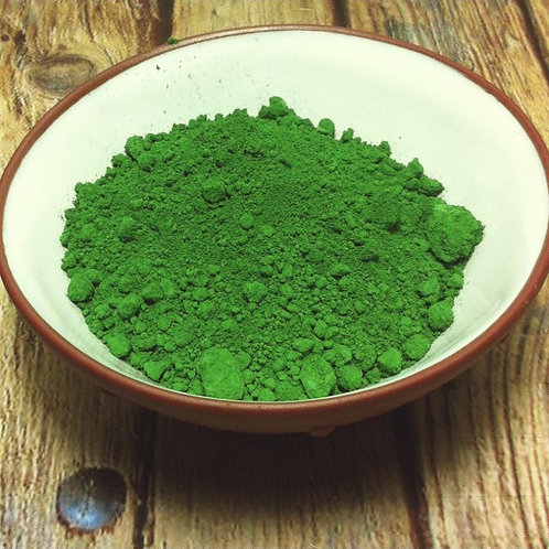 Verte GN (GN Green) Dry Ground Pigment Powder